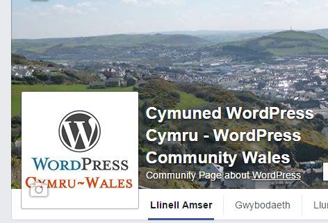 WordPress Cymru Facebook